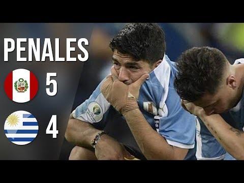 [HD] Uruguay vs. Perú (4-5) ¡IMPACTANTE! Resumen & Goles PENALES