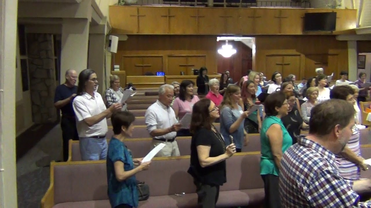 Bridge Over Troubled Water (People's Choir Rehearsal 9/24/2019)