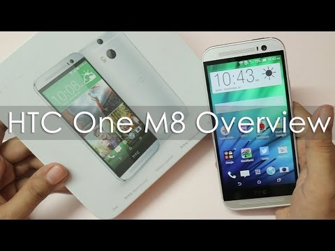 HTC One M8 Unboxing & Hands on Overview