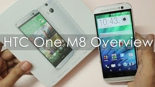 HTC One M8 Unboxing amp Hands on Overview