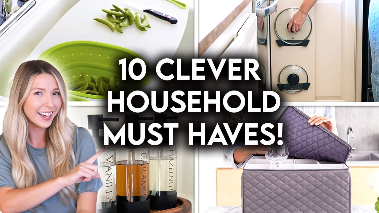 Download 10 AFFORDABLE HOUSEHOLD PRODUCTS YOU DIDN'T KNOW YOU NEEDED!