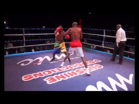 "HIGHLIGHTS: Paulus ""The Rock"" Ambunda claims IBO super bantamweight world title"