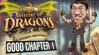 Galakrond's Awakening Heroic GOOD Chapter 1 | Adventure | Hearthstone