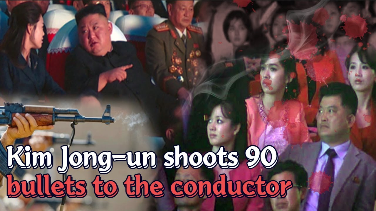 Download Kim Jong-un shoots 90 bullets to the conductor