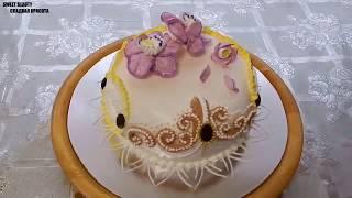 5 Самых красивых украшений тортов