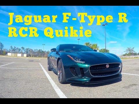 2016 Jaguar F-Type R: RCR Quikie