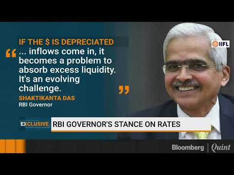 Bloomberg Exclusive: Interest-Rate Stance Now Depends On Data, Says Shaktikanta Das