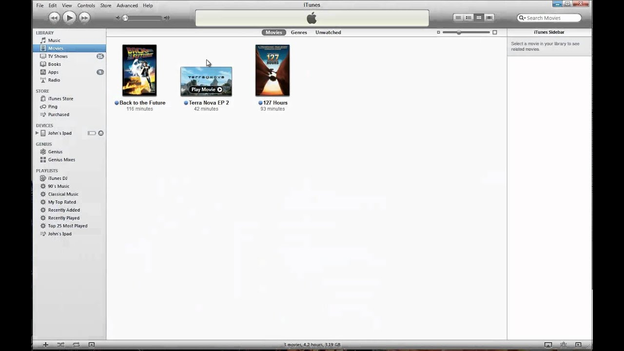 How to: Add TV Shows to iTunes