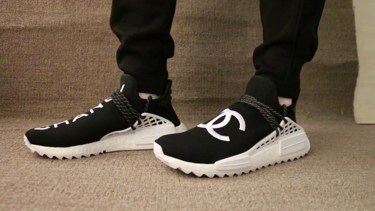 Chanel x Pharrell x Adidas Originals NMD - YouTube e32d6e872