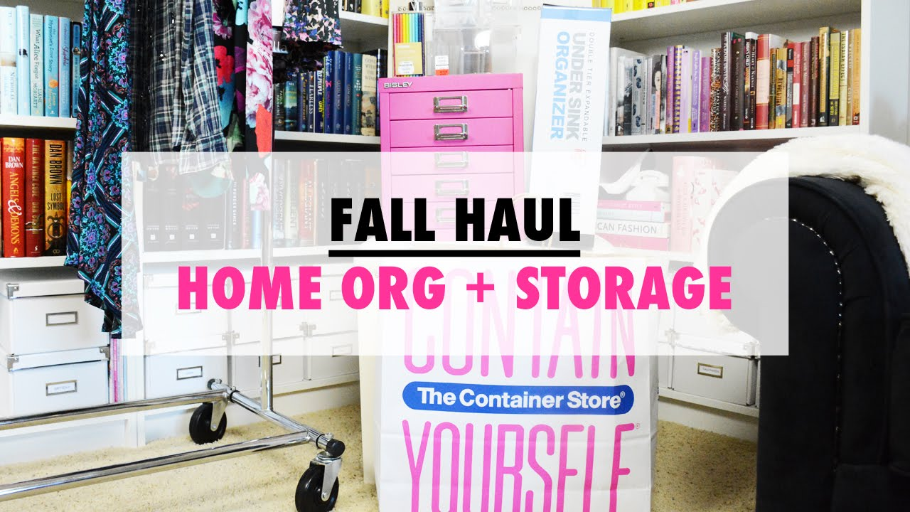 Best Kitchen Gallery: Fall Haul Container Store Home Organization Tips Youtube of Container Store Home  on rachelxblog.com