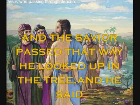 ZACCHAEUS  FOR KIDS  WITH LYRICS.wmv