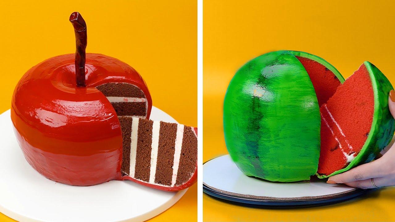 Amazing Fruit Cake Decorating Ideas | Fruit Cake Decorating Tutorials