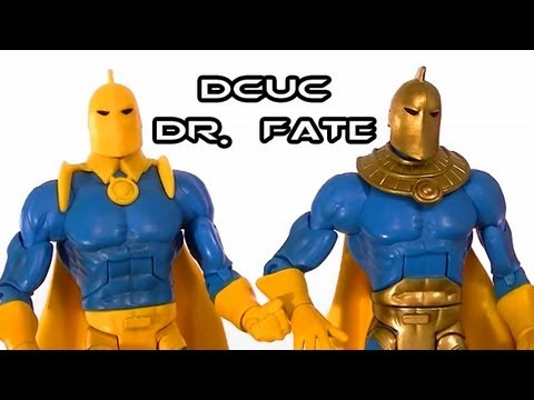 DCUC DR. FATE Figure Review