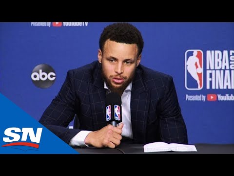 Steph Curry Speaks On Kevin Durant & Warriors Game 5 Win Against Raptors