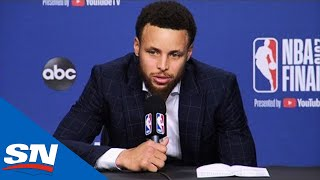 Download Steph Curry Speaks On Kevin Durant & Warriors Game 5 Win Against Raptors Mp3 and Videos