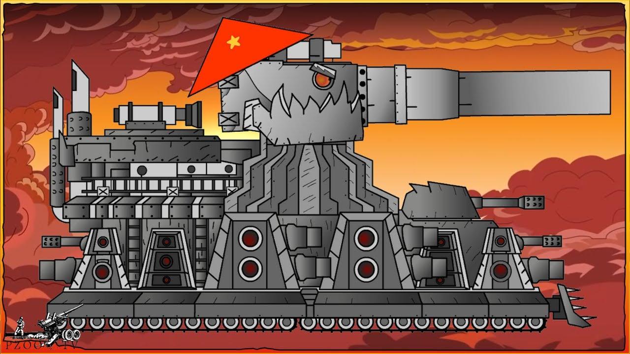 Cách vẽ xe tăng Дора kết hợp КВ-44 Việt Nam   Phim hoạt hình về xe tăng