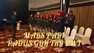 MARS PARI PERHIMPUNAN RADIOGRAFER INDONESIA DIBAWAKAN OLEH MAHASISWA TRR PURWOKERTO