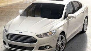 2013 Ford Fusion Start Up and Review 1.6 L Turbo 4-Cylinder EcoBoost