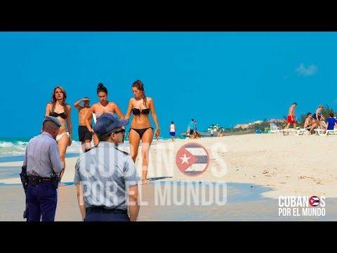 Playas de Varadero prohibida para los cubanos, Cristina Escobar no puede disfrutar sus vacaciones