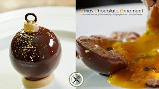 Chocolate Passion Sphere – Bruno Albouze – THE REAL DEAL