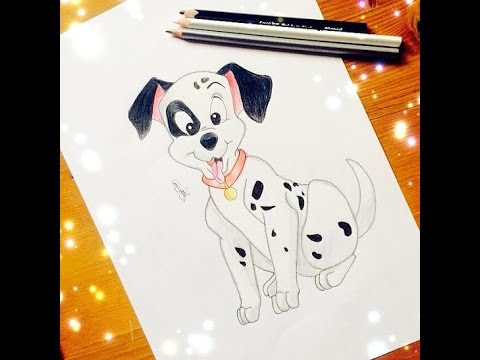 how to draw 101 dalmatians