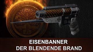 Destiny: Der Blendende Brand   Eisenbanner Pistole   Review (Deutsch/German)