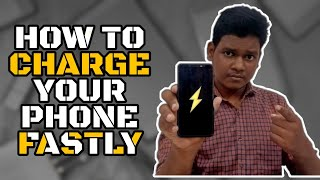 5 Tips and Trİcks to Charge Mobile Fastly ⚡⚡⚡| How to Charge Phone Fast |