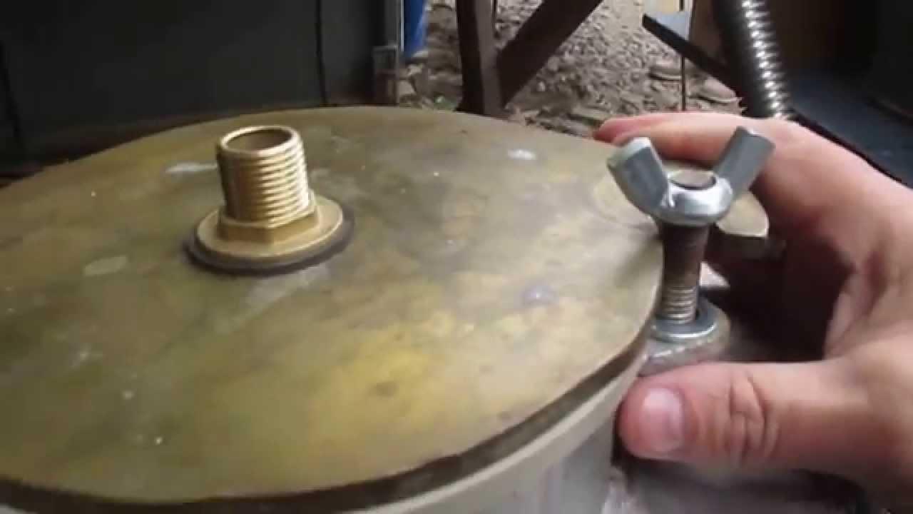 Крышка для куба самогонного аппарата какого материала лучший самогонный аппарат