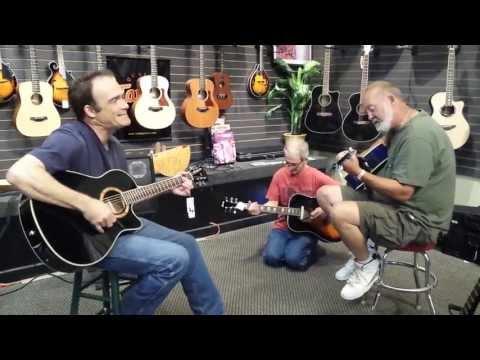 Scott Haggard - Okie From Muskogee - Music Store Performance