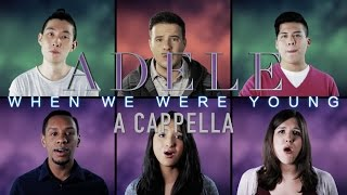 ADELE // When We Were Young (A cappella) // Jared Halley and Backtrack