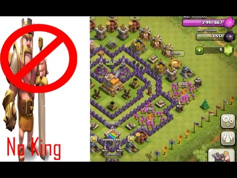 Th7 trophy defence base no barbarian king speed build hd 2015