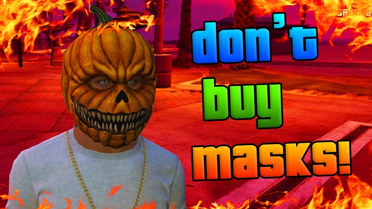 GTA Online: DON'T BUY NEW MASKS - Halloween DLC Masks Glitch ...
