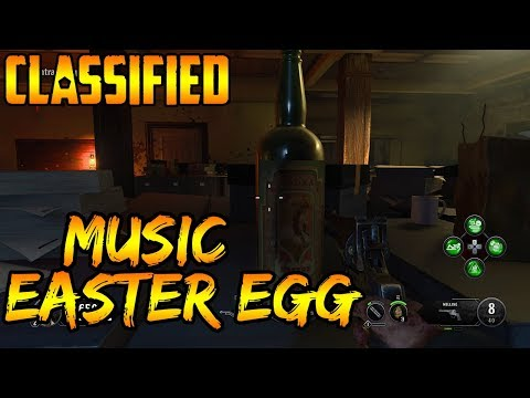 CLASSIFIED EASTER EGG SONG GUIDE BLACK OPS 4 ZOMBIES SHOCKWAVE EASTER EGG SONG (WORLDS FIRST GUIDE)