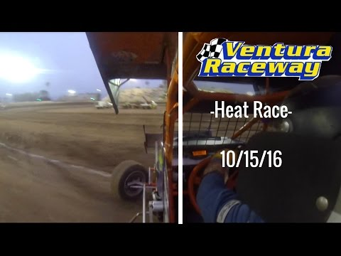 California Lightning Sprint at Ventura Raceway -Heat Race- 10/15/16
