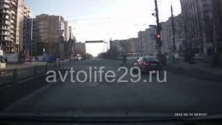 Экзаменационный маршрут ГИБДД г. Архангельска № 9(Часть 1., 2013-04-14T15:33:56.000Z)
