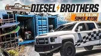 DIESEL Brothers #1: Lackieren, Schrauben, Schrottplatz | Diesel Brothers: Truck Building Simulator