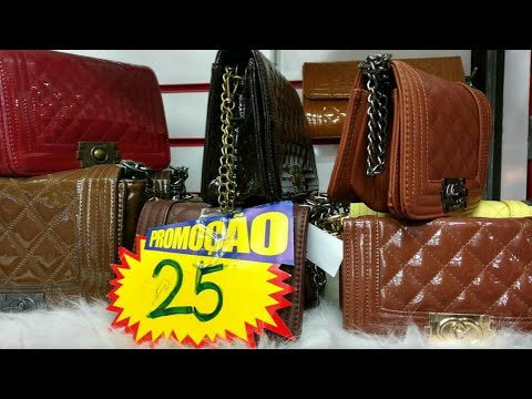 26b260ecf1 Dicas de onde comprar Bolsas Baratas no Brás. - YouTube