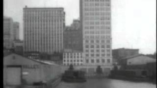 Skyscrapers of New York City, from the North River, May 10, 1903.