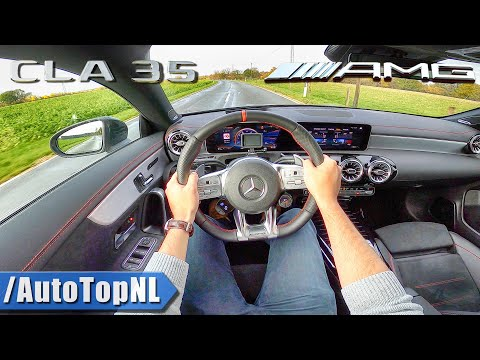 2020 MERCEDES AMG CLA 35 4Matic POV Test Drive By AutoTopNL