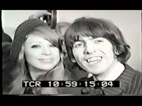 George Harrison & Pattie Boyd wedding 1966