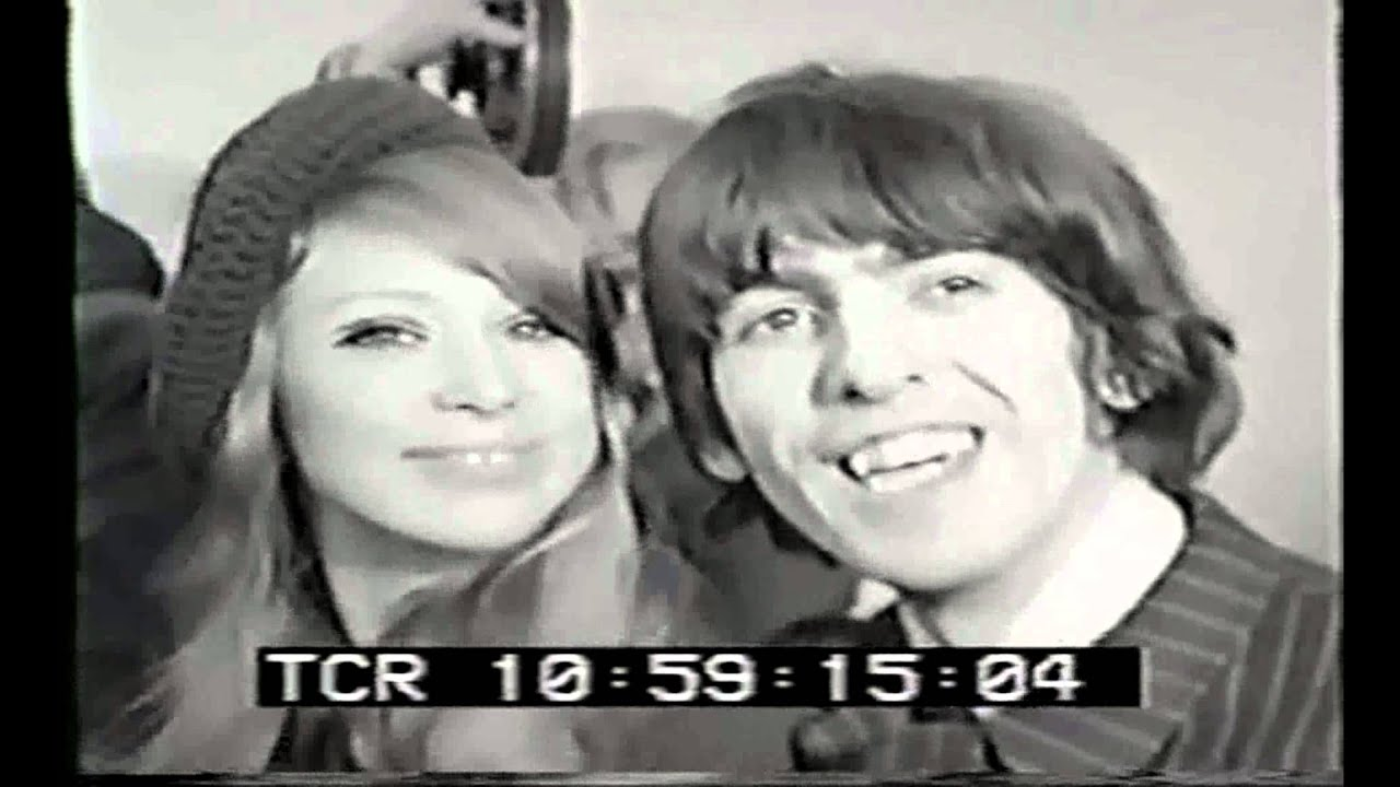 George Harrison Pattie Boyd Wedding 1966