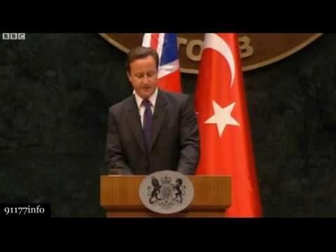Prime Minister David Cameron calls Gaza a Prison Camp