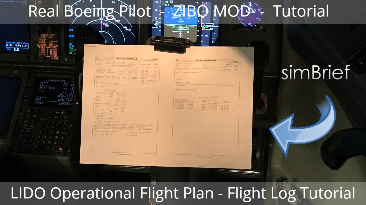 33 40 MB] Download Lagu REAL BOEING PILOT SimBrief LIDO Operational