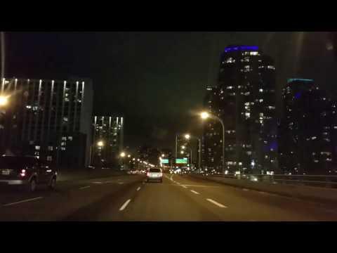 2016 Christmas Eve Downtown Toronto to North York [1080p]