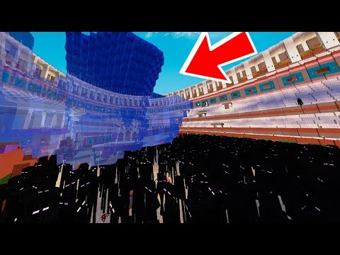 10.000 ENDERMANS vs TSUNAMI EN MINECRAFT
