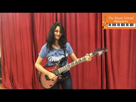 RHCP - Californication by Payal Sachdev - The Music School Bangalore