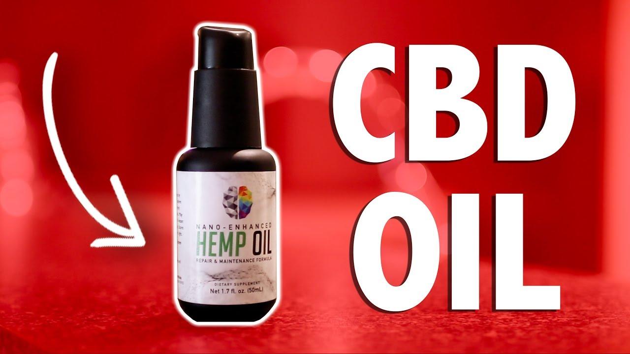 CBD OIL (MY 30 DAY RESULTS)
