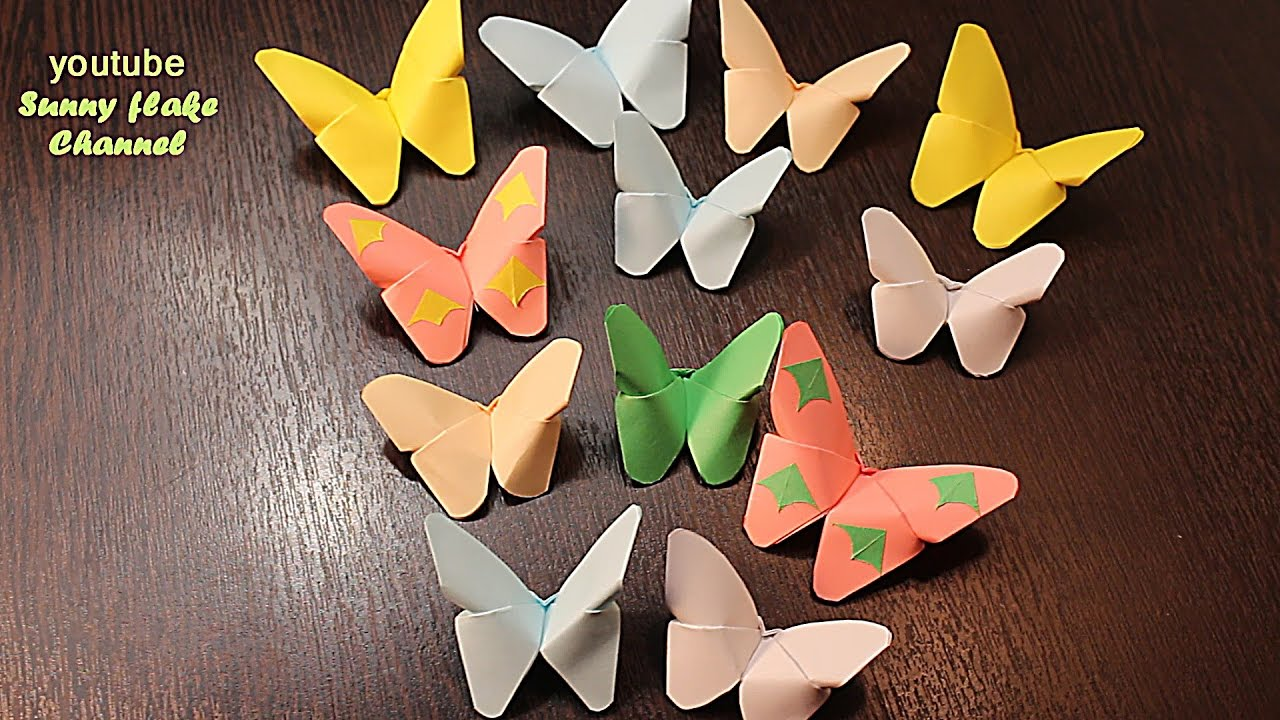 Diy butterfly for Room decor youtube channel