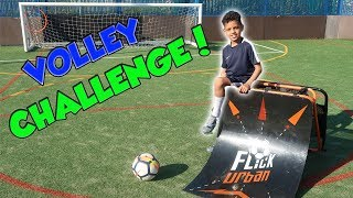 CRAZY VOLLEY CHALLENGE | 9 YEAR OLD TASH BALLER VS AN ADULT!!