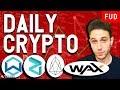 Daily Crypto News: WAX partners EOS, WANchain ICOs, Ian Balina Hacked, Zilliqa Testnet